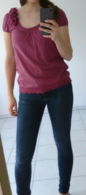 Aniston Shirt grey lilac-purple