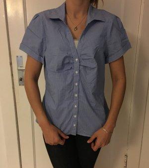 Oberteil in blauweiß / H&M