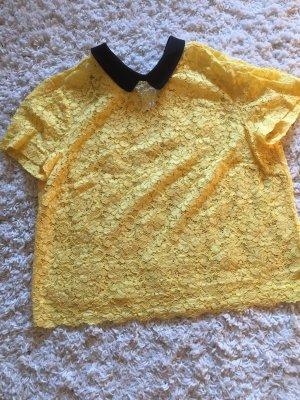 Oberteil in gelb von Zara