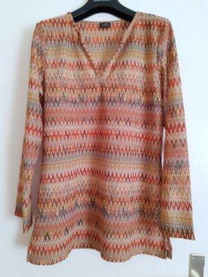 Tuniekblouse veelkleurig Polyester