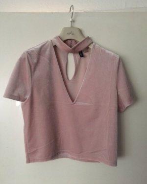 H&M T-shirt roze-lichtroze