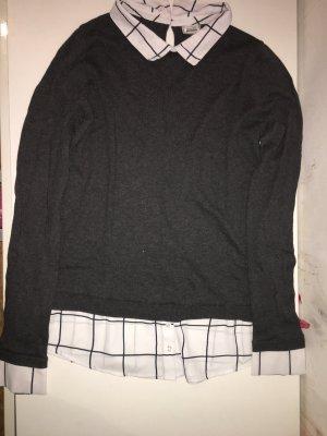 Oberteil mit Hemd zusammen