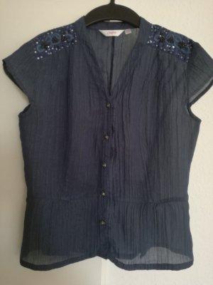 Damespak donkerblauw Polyester