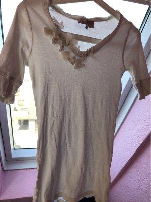 Franco Callegari Geribd shirt wit