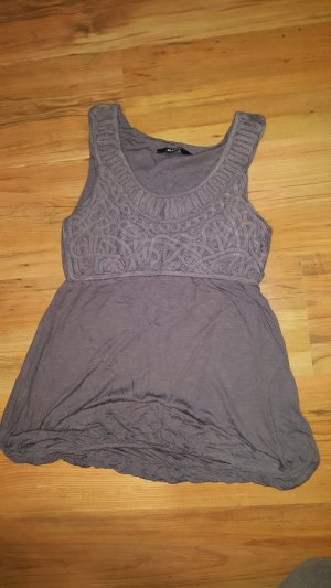Blend Lace Top grey brown
