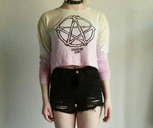 Oberteil Pentagramm 'Voodoo Girl' Gothic Punk Lolita