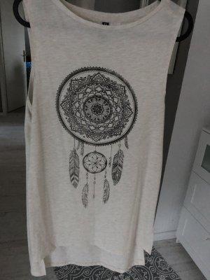 H&M Lang shirt beige-room