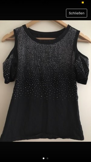 Carmen shirt zwart