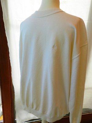 Suéter blanco tejido mezclado