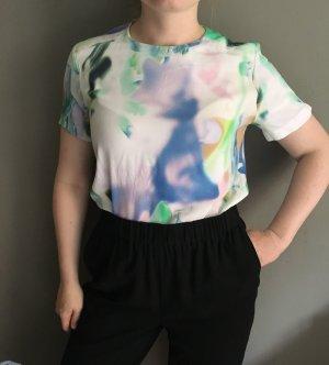 Oberteil T-shirt Bluse von COS in Größe 38 Pastellfarben Sommer Hochzeit