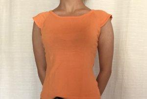 Cecilia Classics Camicetta body arancione Viscosa