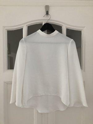 Oberteil Top Bluse Zara weiß