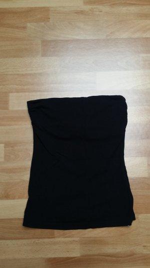 Oberteil/Top in schwarz, schulterfrei, Gr. 36/S, von H&M