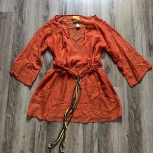 Miss Sixty Robe de plage orange fluo