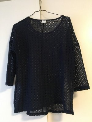 Vero Moda Mesh Shirt dark blue
