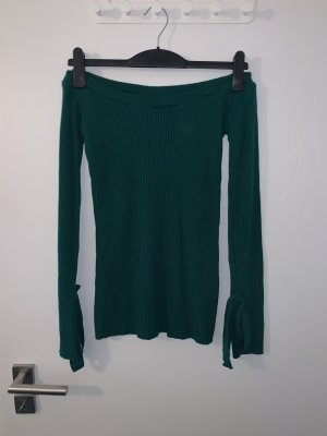 Boohoo Knitted Sweater petrol