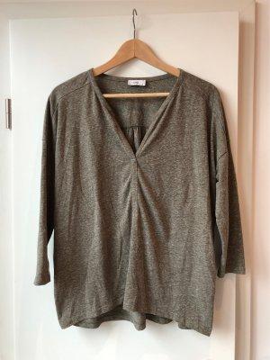 Closed Oversized shirt grijs-groen