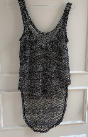 Cotton On Short Sleeved Blouse black-white