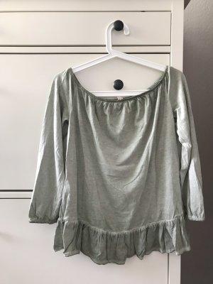 Esprit Boatneck Shirt sage green