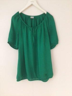 Esprit Glanzende blouse groen