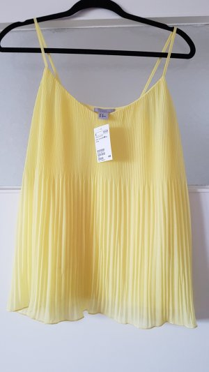 H&M Spaghetti Strap Top yellow