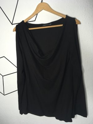 MAXX Cowl-Neck Shirt black
