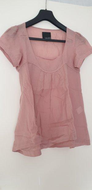 mbyM Blusa de lino color rosa dorado