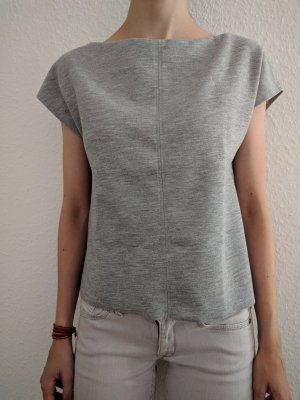 Zara Top color plata