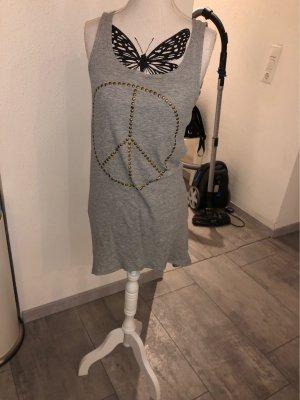 H&M Top lungo grigio chiaro