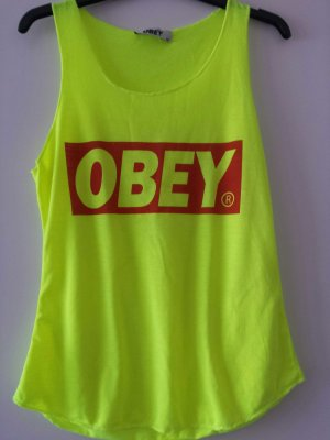 OBEY ärmlloses Top (neon)