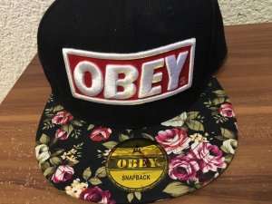 obey Baseball Cap black