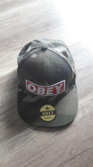 Obey Snapback Cap Basecap Kappe Mütze Camouflage