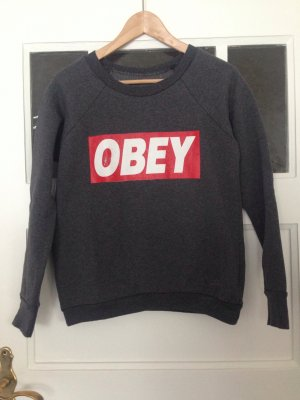 OBEY | Sweater | Sweatshirt | grau | Größe 36 | Fashion | Blogger | Hipster