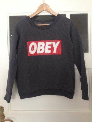 OBEY | Sweater | Sweatshirt | grau | Größe 36 | Fashion | Blogger | Hipster