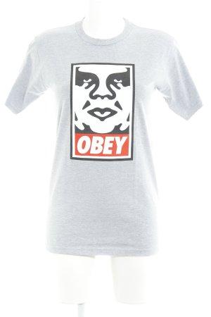 Gebraucht, obey T-Shirt Motivdruck Casual-Look gebraucht kaufen  Wird an jeden Ort in Österreich