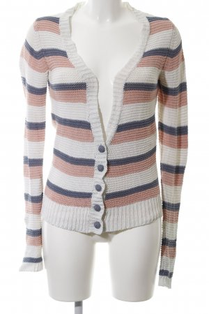Object Grobstrickjacke Streifenmuster Casual-Look