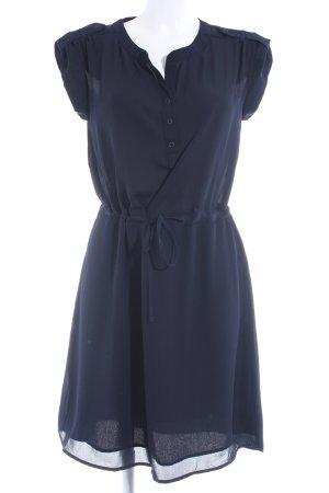 Object Hemdblusenkleid dunkelblau Casual-Look