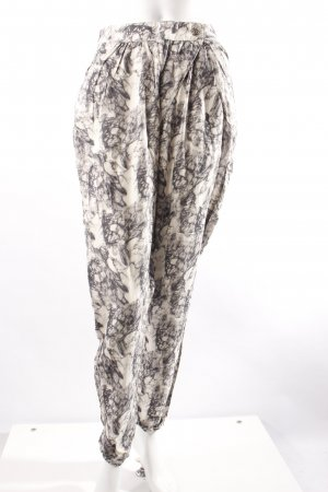 Object Hose marmoriert schwarz weiß