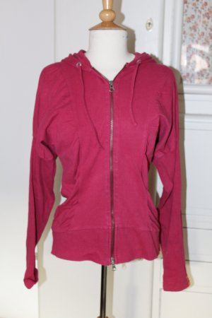 Object Sweat Jacket magenta cotton