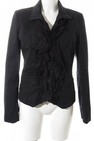 Object Denim Blazer black elegant