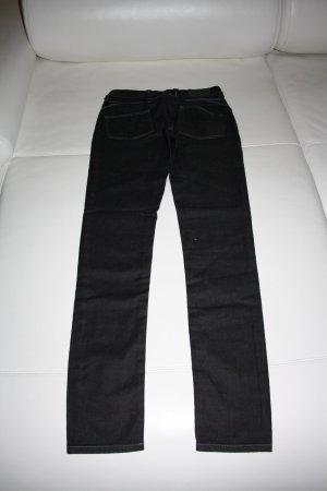Object Low-Rise Trousers black cotton