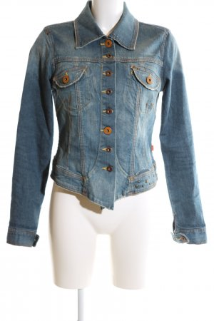 Object Jeansjacke blau Casual-Look