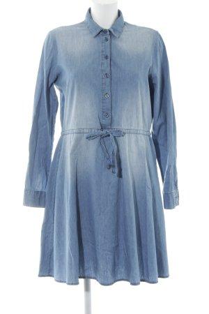 Object Jeanskleid blau Casual-Look