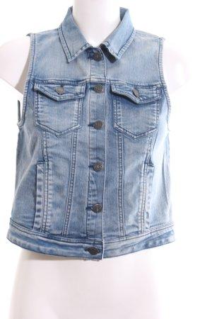 Object Denim Vest blue casual look
