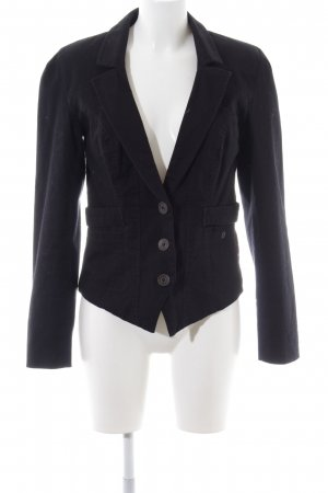 Object Jerseyblazer schwarz Business-Look
