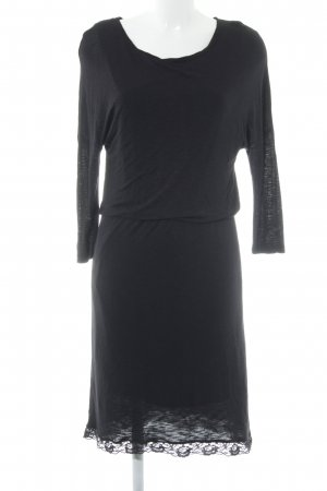 Object Jerseykleid schwarz Casual-Look