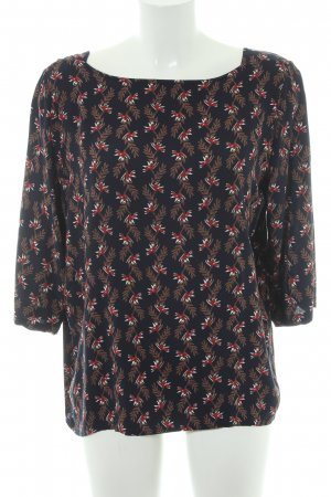 Object Langarm-Bluse florales Muster Casual-Look