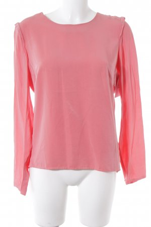 Object Langarm-Bluse lachs Casual-Look