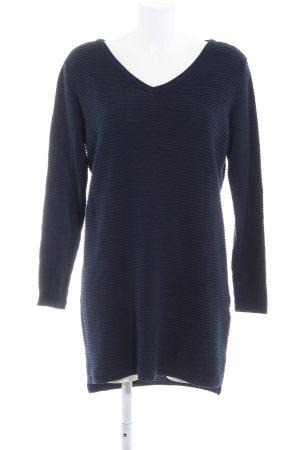 Object Jersey largo azul oscuro estilo sencillo