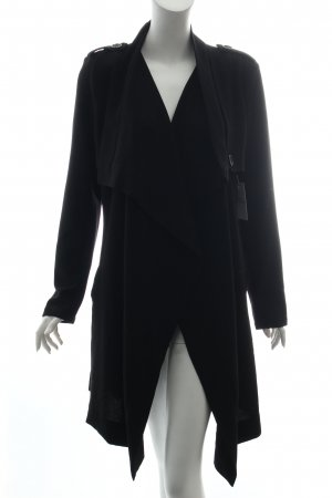Object Oversized Mantel schwarz Business-Look